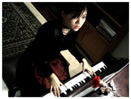The Piano Player by charquill