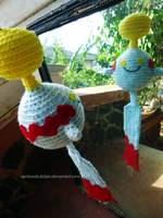 Amigurumi Chimecho Windchime by Rainbowbubbles
