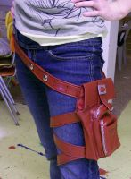 Lightning: Leg Purse complete by RoxyRoo