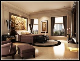 Mrs. Honey MasterBed Room by satriobajuhitam
