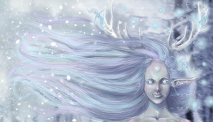 the coming of winter by fooltofancy