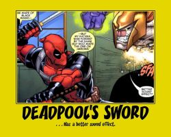 Deadpool's Sword by TorkBacklash