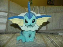 My Pokemon Plushie Collection - Vaporeon by Megalomaniacaly