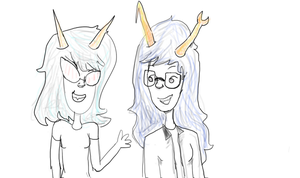 Look at them cool kids! by arachnidsGrip8