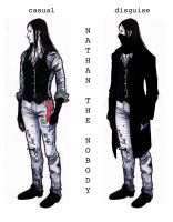 [Creepypasta]: Nathan The Nobody RE-DESIGN by BleedingHeartworks