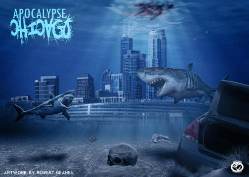 apocalyptic chicago by slim1980