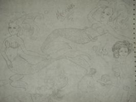Some Mermaids by The-Lighted-Soul
