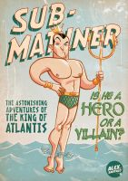 Sub-Mariner by alexsantalo