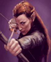Tauriel by ImperfectSoul