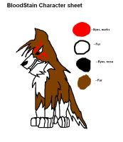 Bloodstain Character sheet by RedSlashwolf