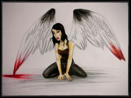 Fallen Angel by northerlover
