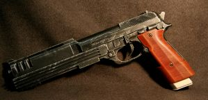 Custom Beretta Pistol by JohnsonArms