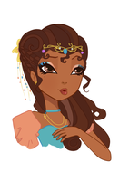 Ever After High OC: Empress Preview by DJstarberry