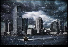 """Snowflakes in Jersey City"" by PortraitOfaLife"