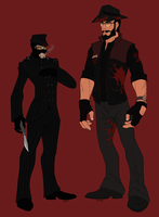 [TF2] - CorruptedSpy and ChristianBrutalSniper by LanceHomicidalSniper