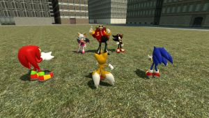 4,000 Page Views:  Sonic Adventure 2 Standoff (2) by UKD-DAWG
