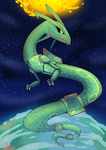 Rayquaza by ChairVermin