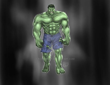 The Hulk Final by tcprophet
