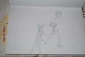 Iceskating Drawing Number 5 by Crustech