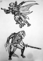 Hans and Alders sketches by Tristikov