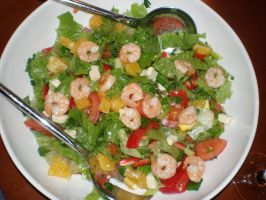 Shrimp Salad by alazada9855