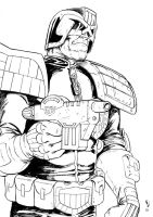 Judge Joe Dredd by KevLev