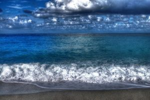 Amantea's sea - HDR by yoctox