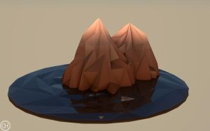 Low-Poly Mountains by tobber103