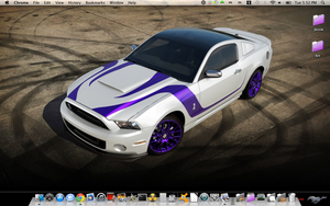 My Desktop on Mac by Wretched--Stare