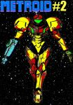 Metroid #2 comic book cover pop art by TheGreatDevin