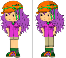 Persimmons' Camping Outfit by 00m