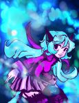 Blue haired cat girl by Hold-Your-Fire