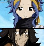 Gajeel and Levy Fairy Tail Manga 486 by RogueFull