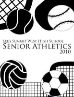Senior Athletics Program Front by floweringgarlic