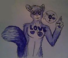 Wolfie says, love is love! by TechnicolorYawns