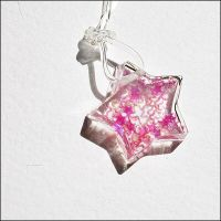 Starred star - pink by astis