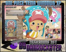 Tony Tony Chopper Theme Windows XP by Danrockster
