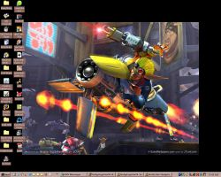 Jak and Daxter Desktop by RedandblackShadow