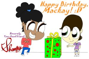Happy Birthday, Mackay! (Gift) by ShaneySqueeBoy
