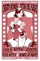 Lonestar Rollergirls poster by JasonGoad
