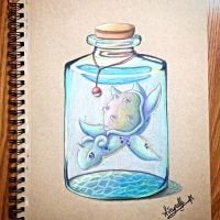 Lapras in a jar by Sakuragirl08