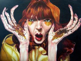 Florence and the Machine by CreateYourArt