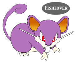 Rattata Pixel by Fishlover