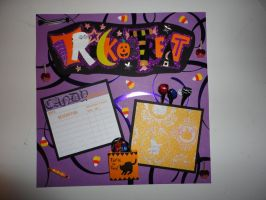 Trick or Treat 8x8 page by butterflypromqueen