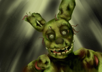 Springtrap Jumpscare by StrykNin3