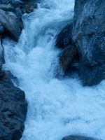 Blue Water at the Gates of Haast by Deceptico
