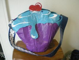 Duct Tape Cupcake Purse by PamGabriel
