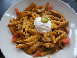 Spicy Penne Pasta by emmatson