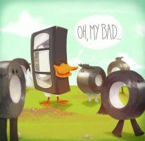 Duck tape by Andry-Shango