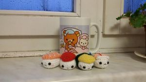 Crochet Sushi Set by judithchen